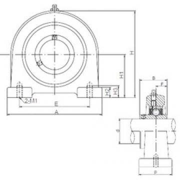 ISO UCPA202 bearing units