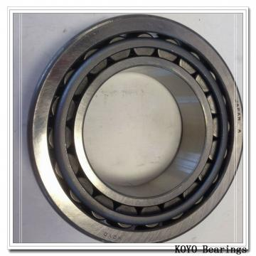 90 mm x 190 mm x 96 mm  KOYO UC318 deep groove ball bearings